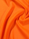 1 m Seide (Meterware) China Bourette 22, orange; 106 (Restpostenpreis)